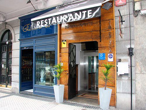 Entrada del Restaurante Ikaitz